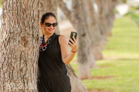 Divertida sesión en exteriores con Susana por Cambrils