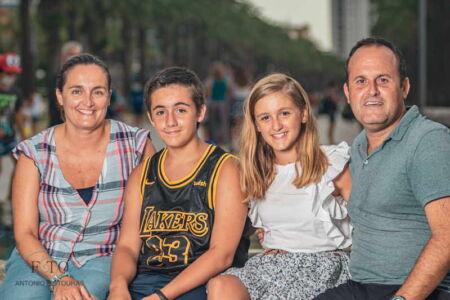 Sesión fotográfica privada familiar por Salou, 2020