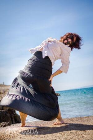 Sesión fotografica en exteriores. Calas de Salou, Tarragona