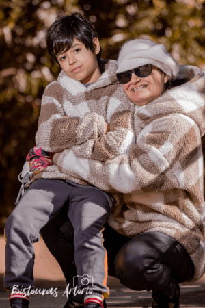 Sesión fotográfica con frio y muchas risas en Reus