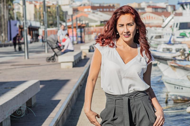 sesión fotográfica exteriores Catalina en Tarragona