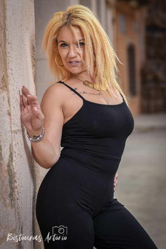 Sesión fotográfica en exteriores con Susana